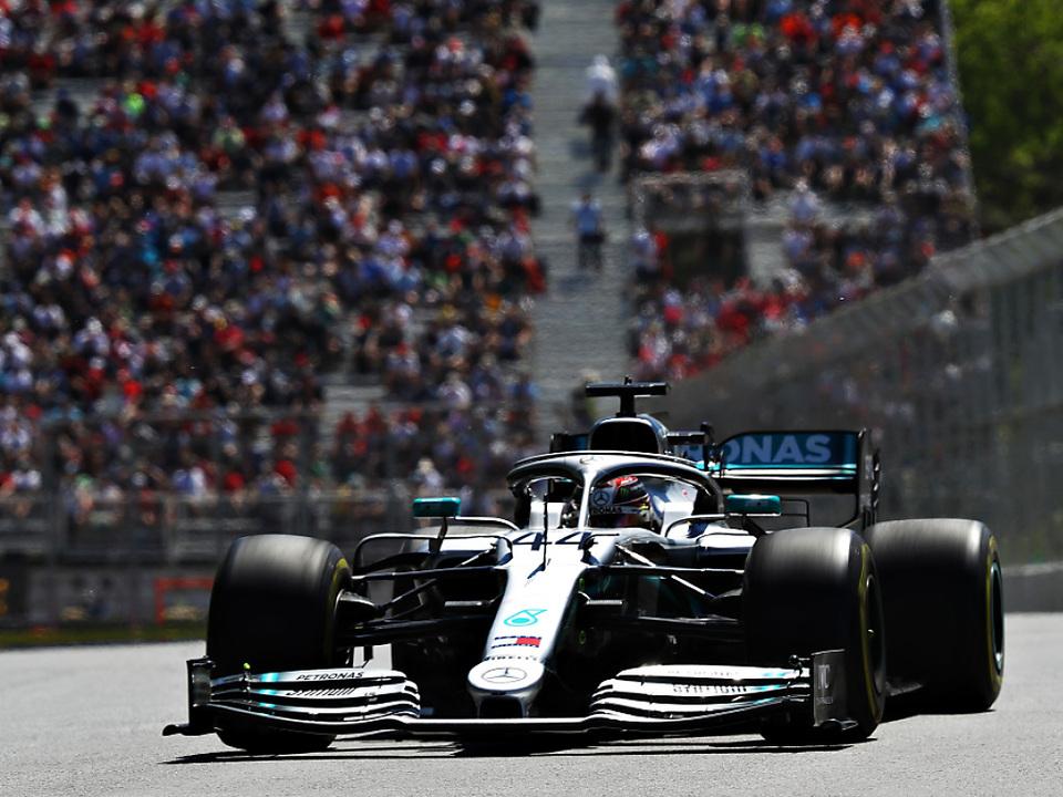 Weltmeister Hamilton war der Schnellste