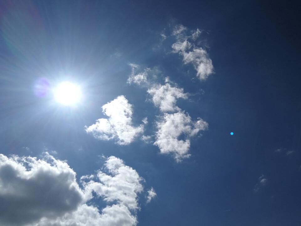 Sonne Hitze Ozon
