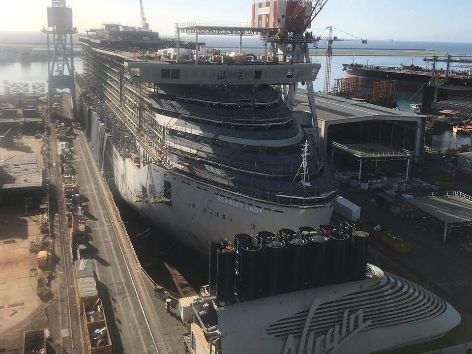 Schiffwerft, Schiffbau