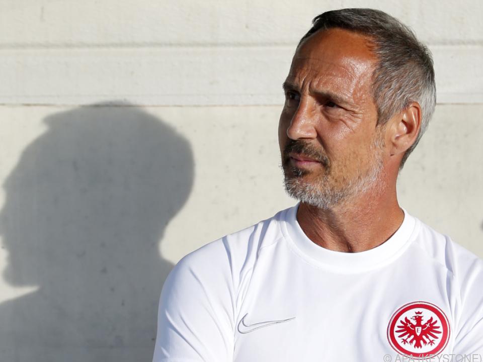 Adi Hütter bei deutschen Fußballfans hoch im Kurs