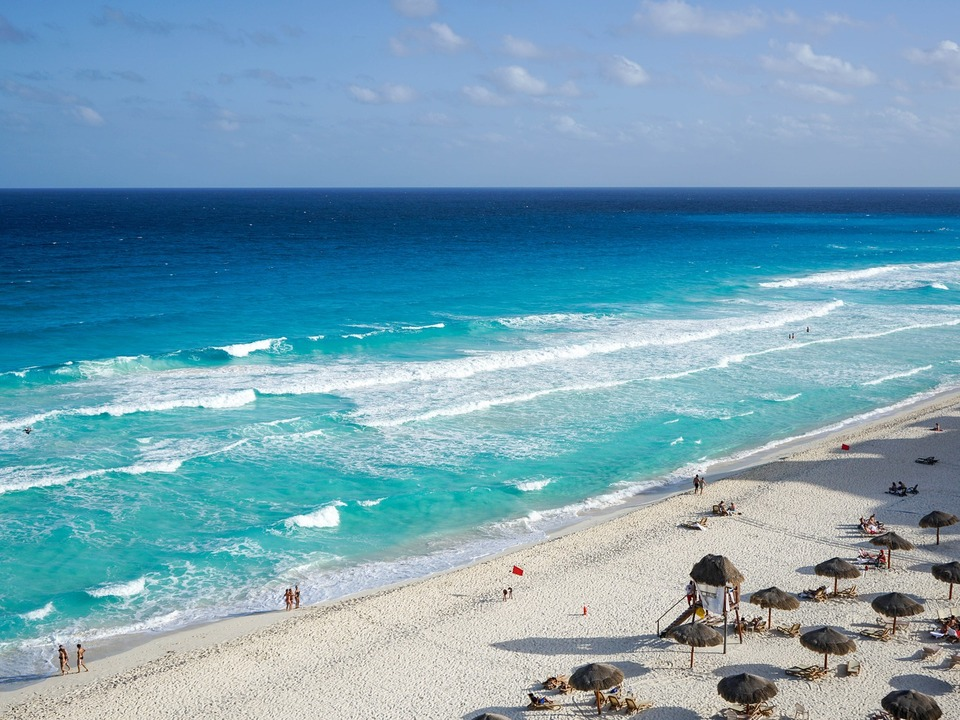 Meer Strand Mexiko Cancun