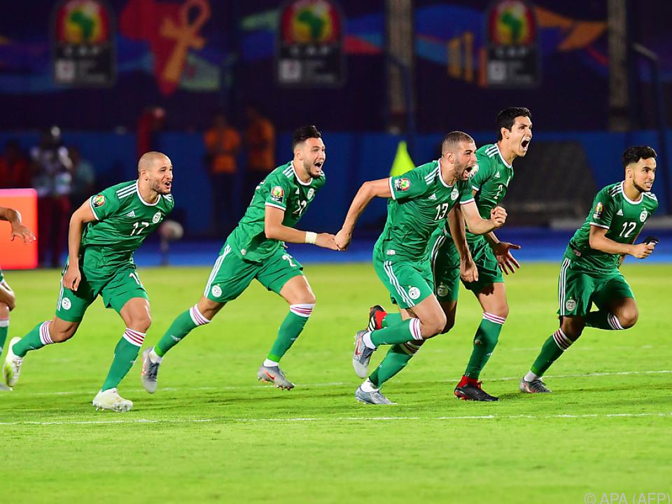Der Moment, in dem der algerische Sieg feststand
