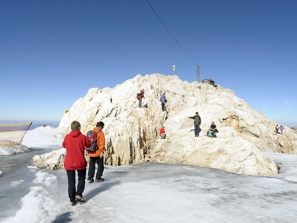 Die Gletscher am Dachstein sind seit 1981 auf dem Rückzug