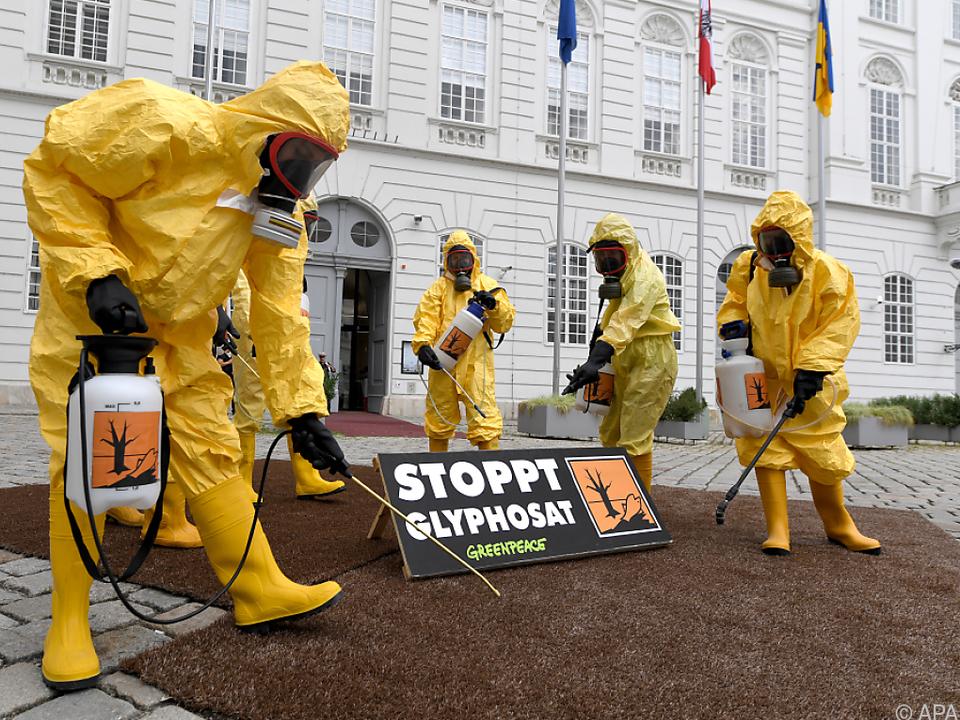 Totalverbot von Glyphosat beschlossen