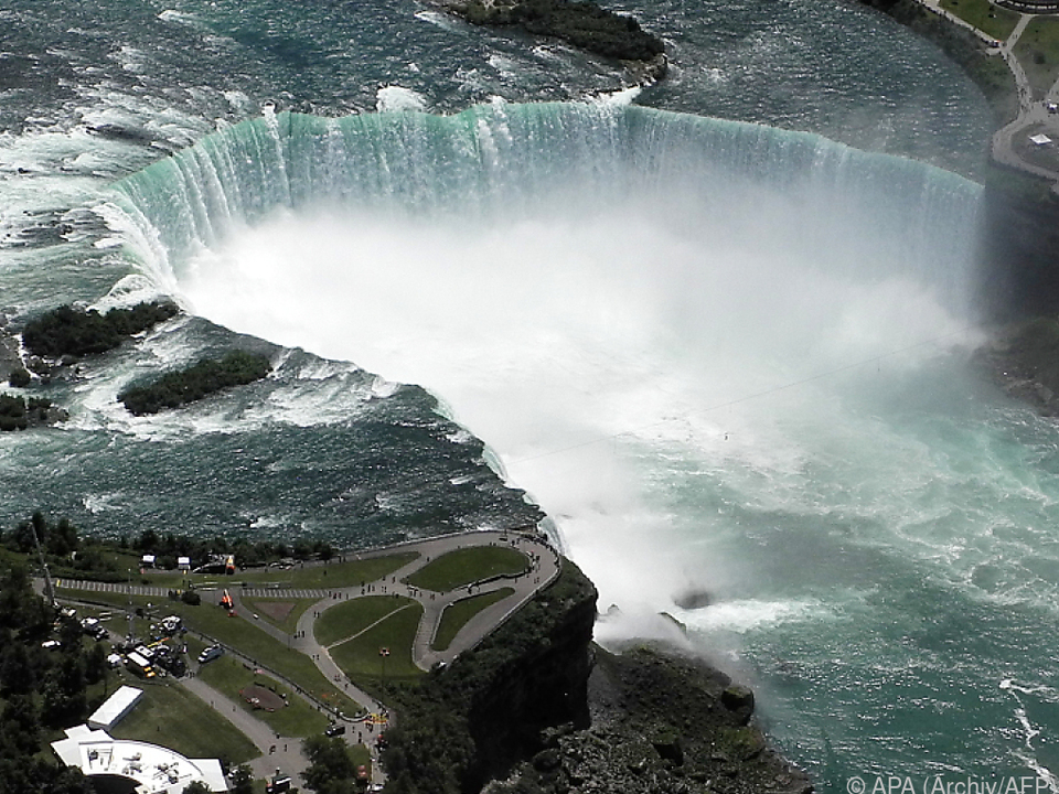 Horseshoe-Wasserfall ist der höchste der Niagarafälle
