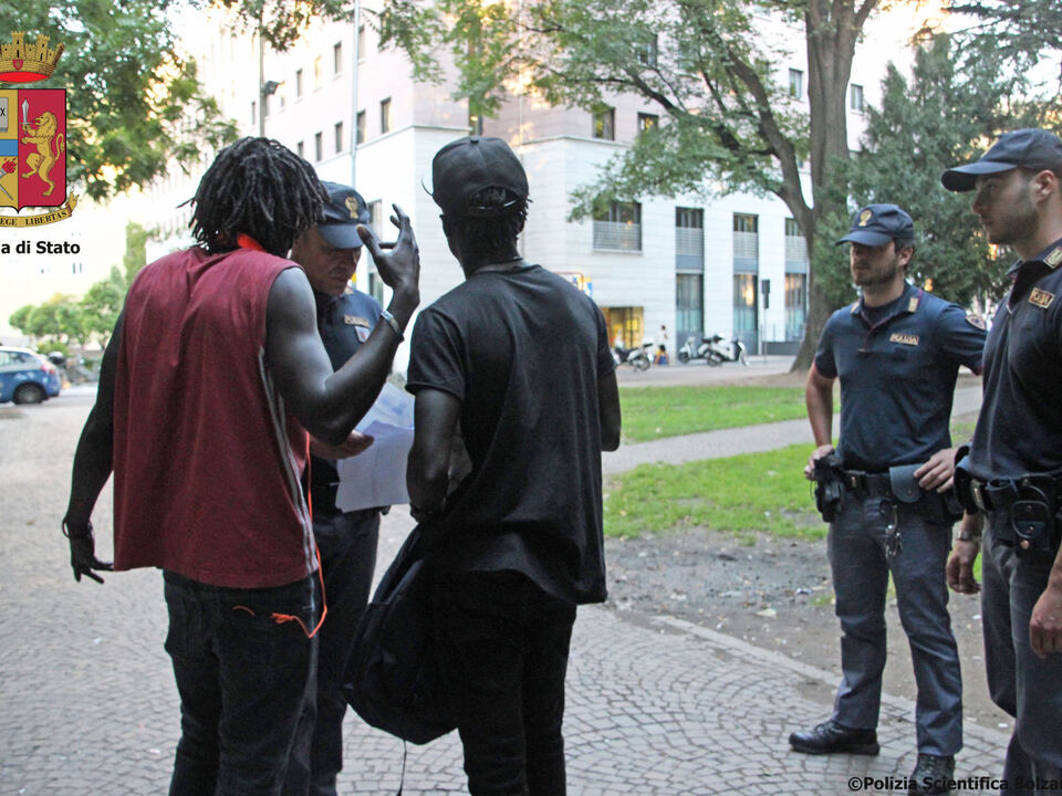 bahnhofspark kontrollen polizei