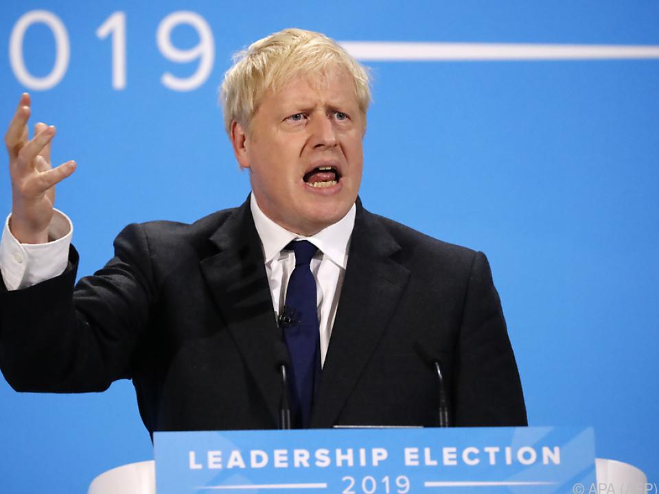 Johnson gilt als Favorit für die Nachfolge von May