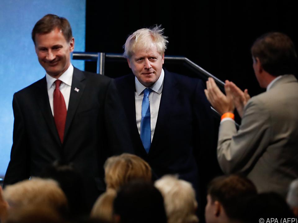Johnson setzte sich gegen Hunt durch