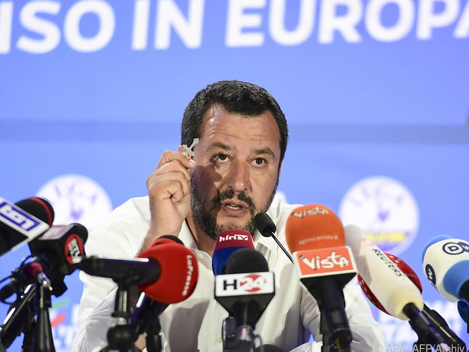 Lega-Chef Salvini dementiert Spendenfluss aus Russland