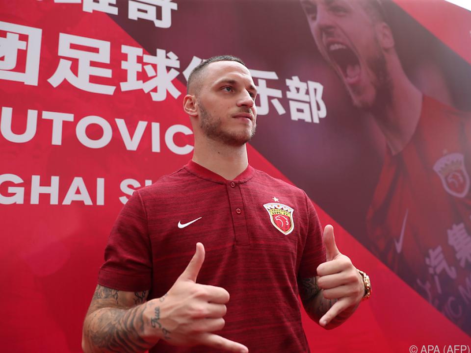 Marko Arnautovic versucht sein Glück in Shanghai