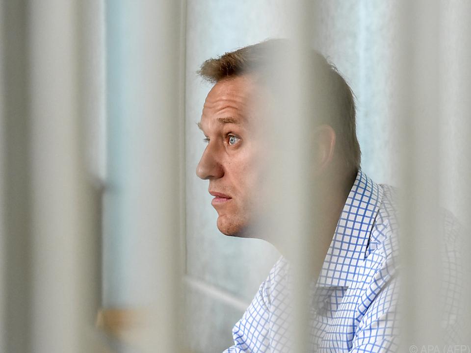 Nawalny war zu 30 Tagen Haft verurteilt worden