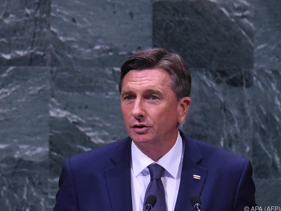Pahor spricht sich gegen eine Barriere aus