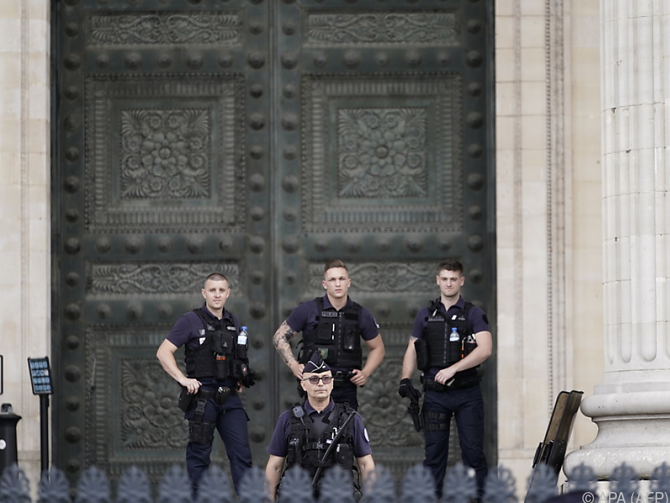 Polizei riegelte das Pantheon ab