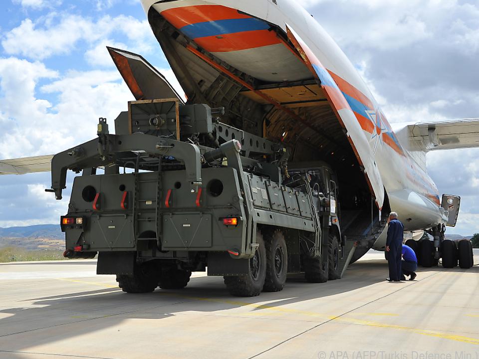 Russische Raketenabwehr in der Türkei sorgt für Ärger mit den USA