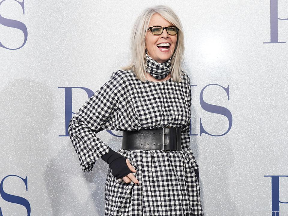 Schauspielerin Diane Keaton ist auch ohne Männer glücklich