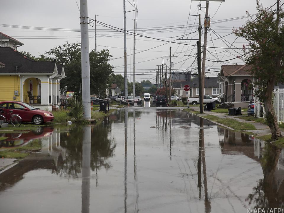 Stadtteile von New Orleans standen unter Wasser
