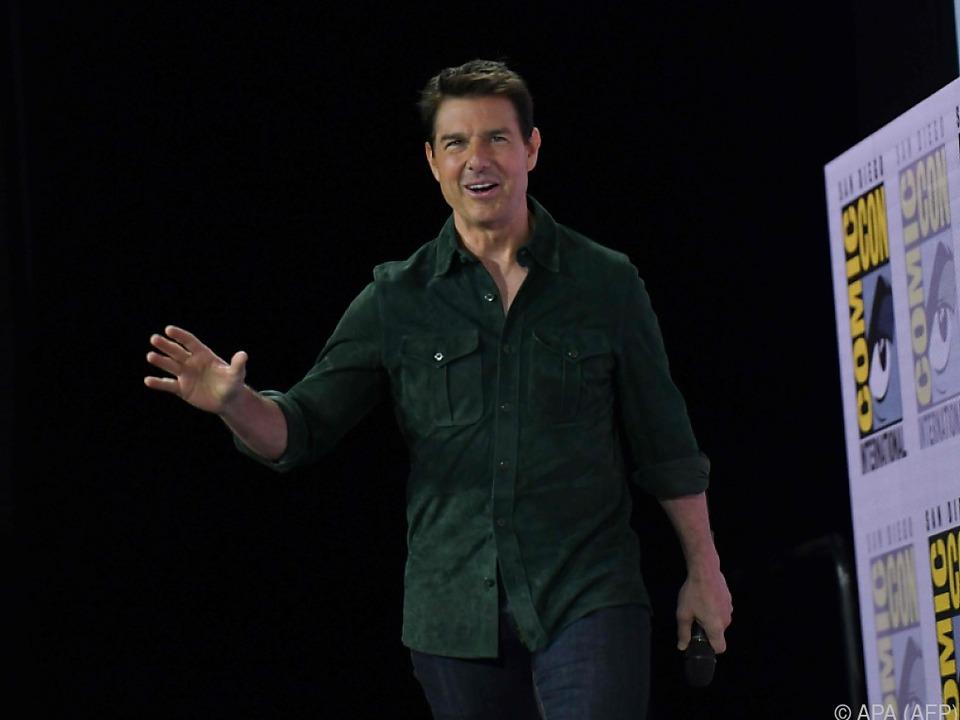 Tom Cruise bei der Comic-Con in San Diego