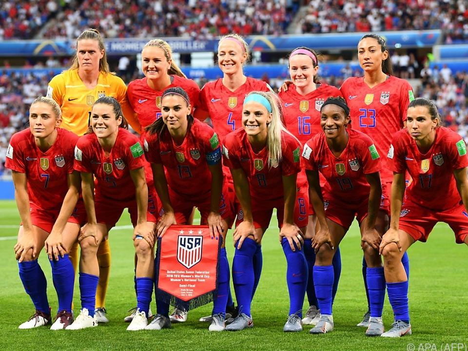 US-Soccer-Ladies sind die Nummer eins