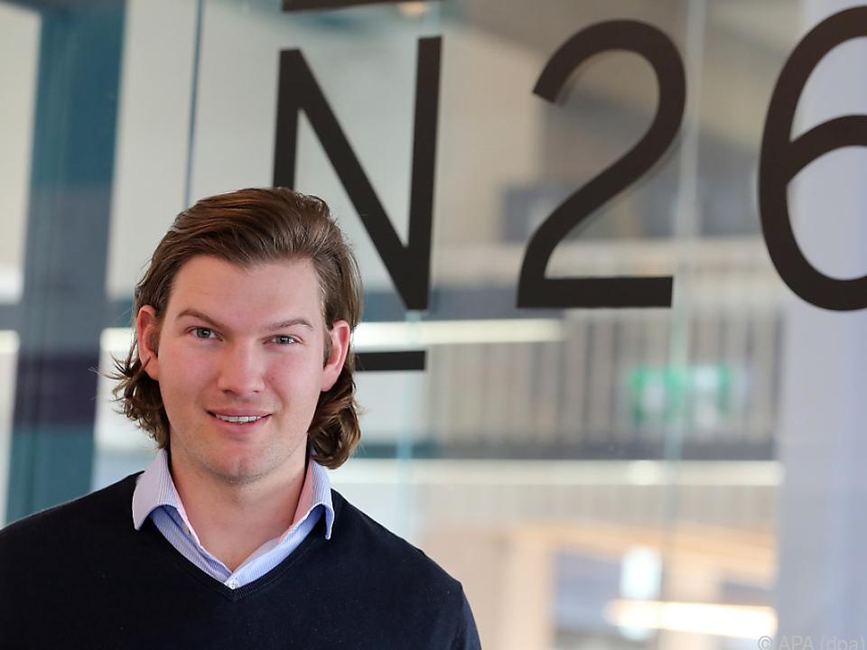 Wiener Valentin Stalf ist einer der Mitgründer der N26-Bank