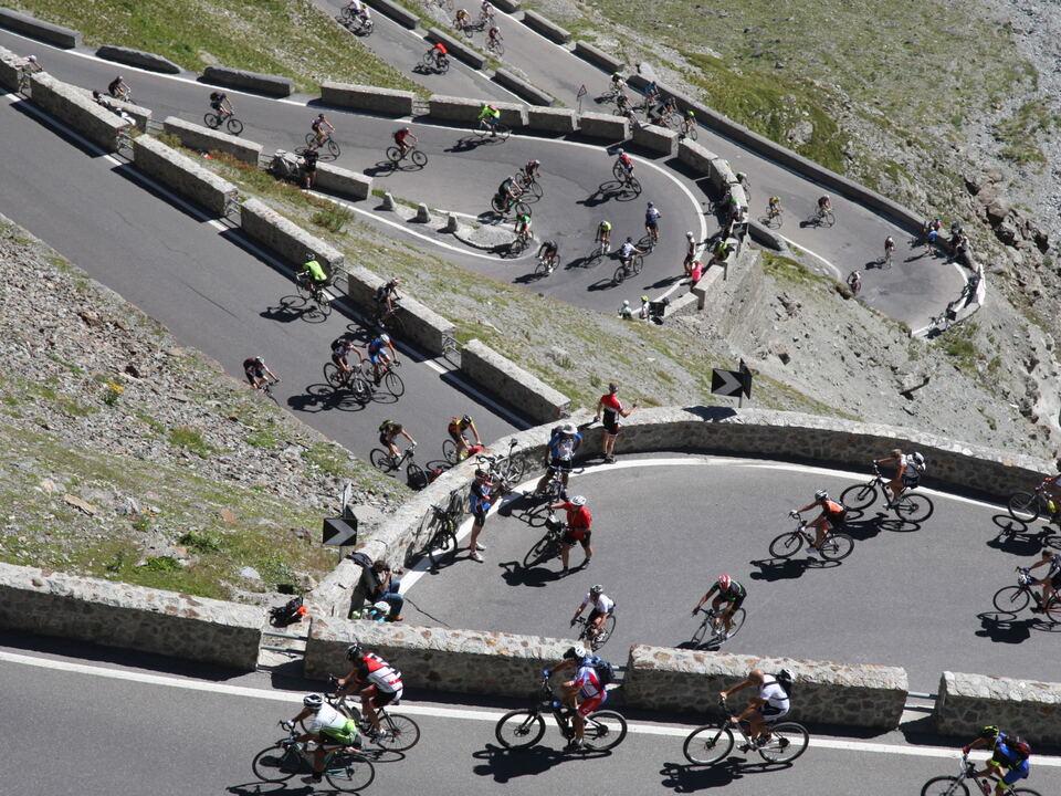 Radtag Stilfser Joch Fahrrad