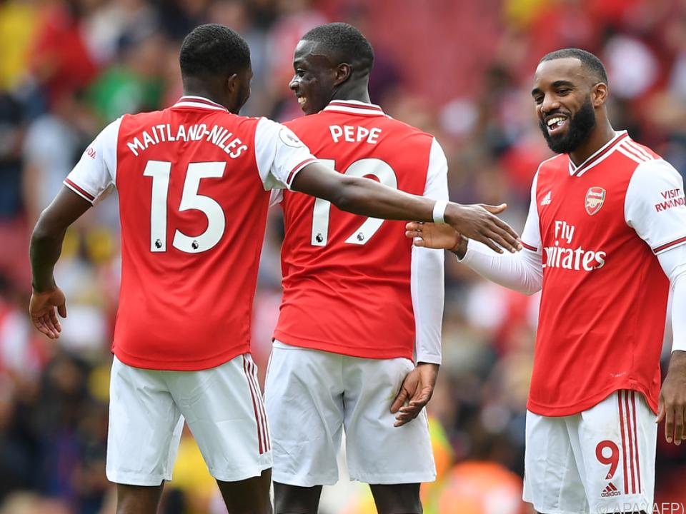 Arsenal will sich nicht verstecken