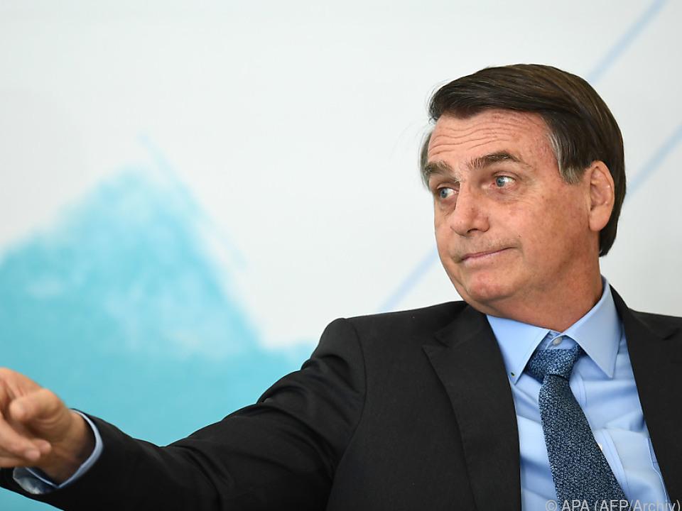 Bolsonaro hat seinen Schuldigen schon gefunden
