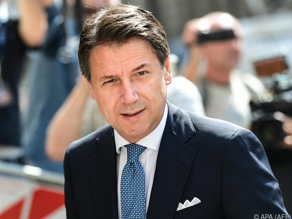Conte soll dem Parlament am 20. August berichten