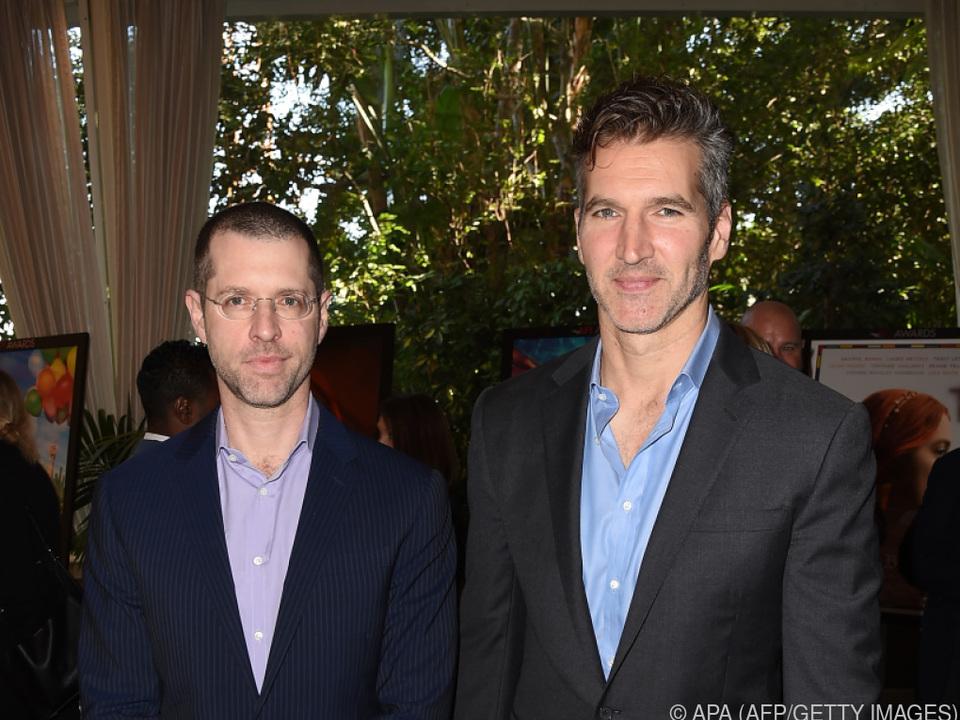 David Benioff (re.) und Dan Weiss verlassen den Sender HBO