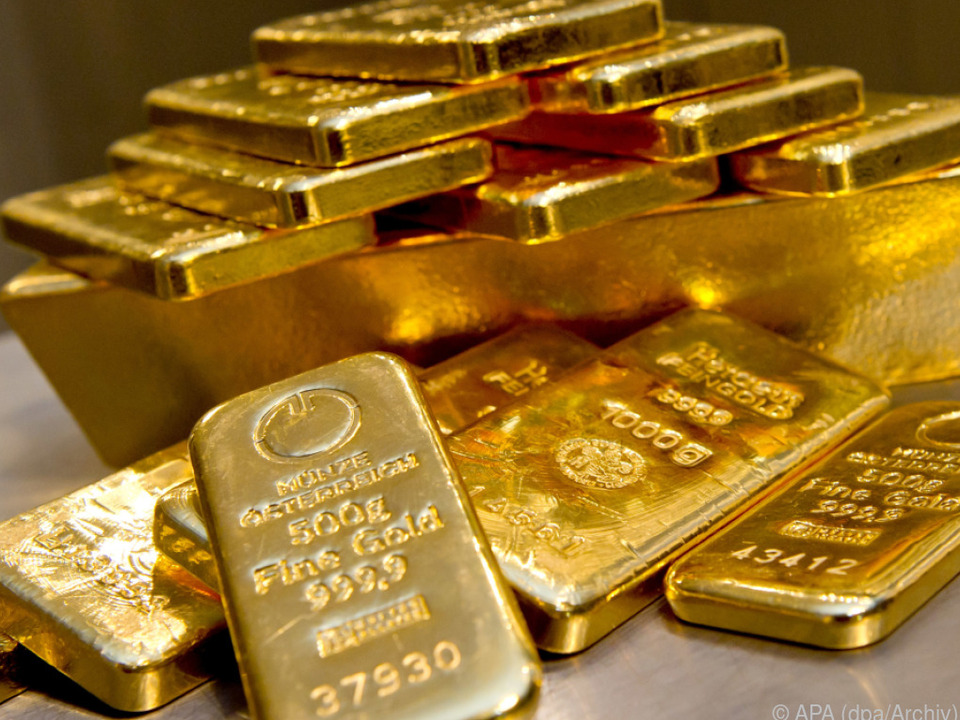 Der Goldpreis ist auf ein Sechs Jahreshoch gestiegen