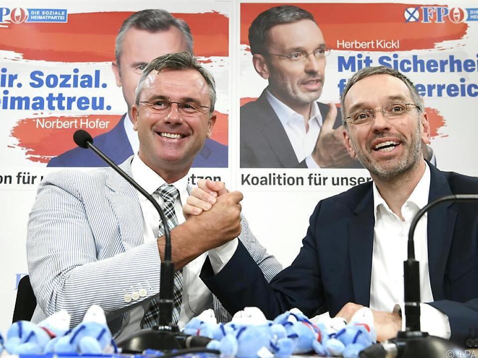 Die FPÖ stellt sich auf den angehenden Wahlkampf ein
