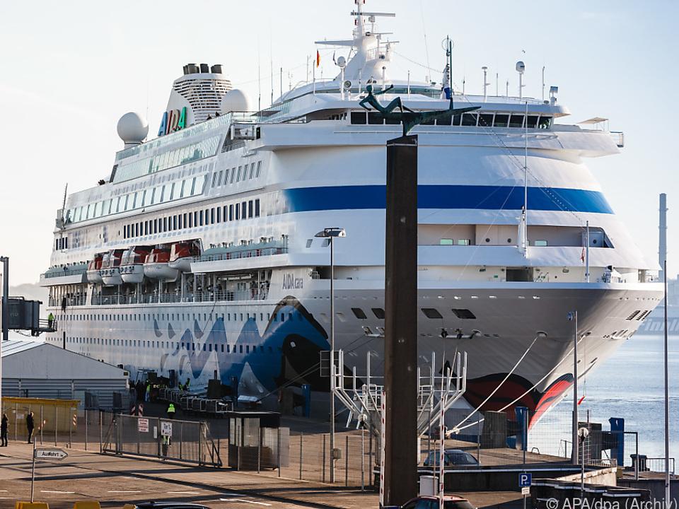 Die meisten Passagiere gingen in Italien an Bord