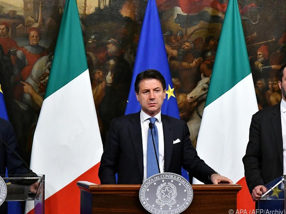 Die Zukunft der italienischen Regierung ist ungewiss