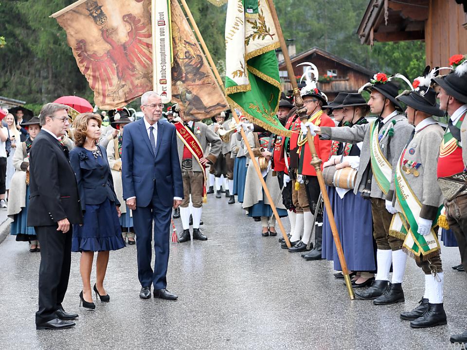 Eröffnung der politischen Gespräche beim Forum Alpbach