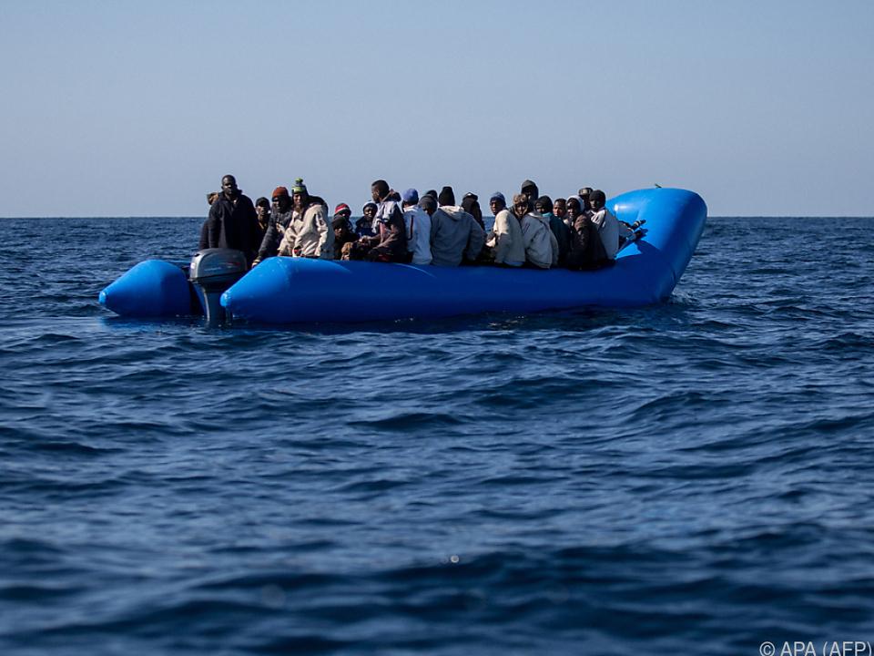 Großer Flüchtlingsandrang in der Ägäis (Archivbild)
