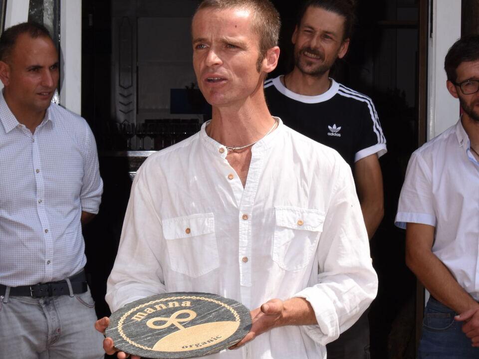 Initiator von MANNAorganic Harald Gasser vom Aspingerhof in Barbian