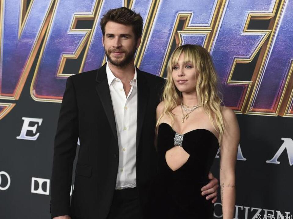 Liam Hemsworth und Miley Cyrus sind kein Paar mehr