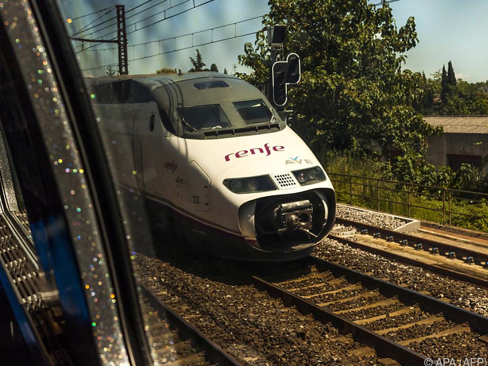 Massive Zugsausfälle in Spanien