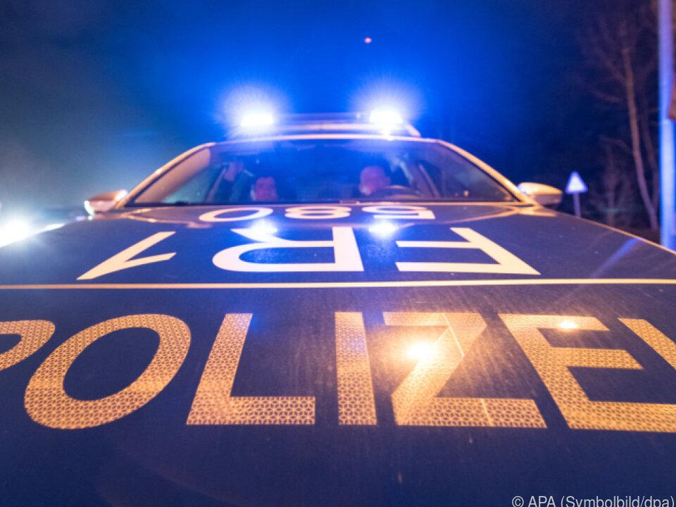 Nächtlicher Einsatz der Polizei