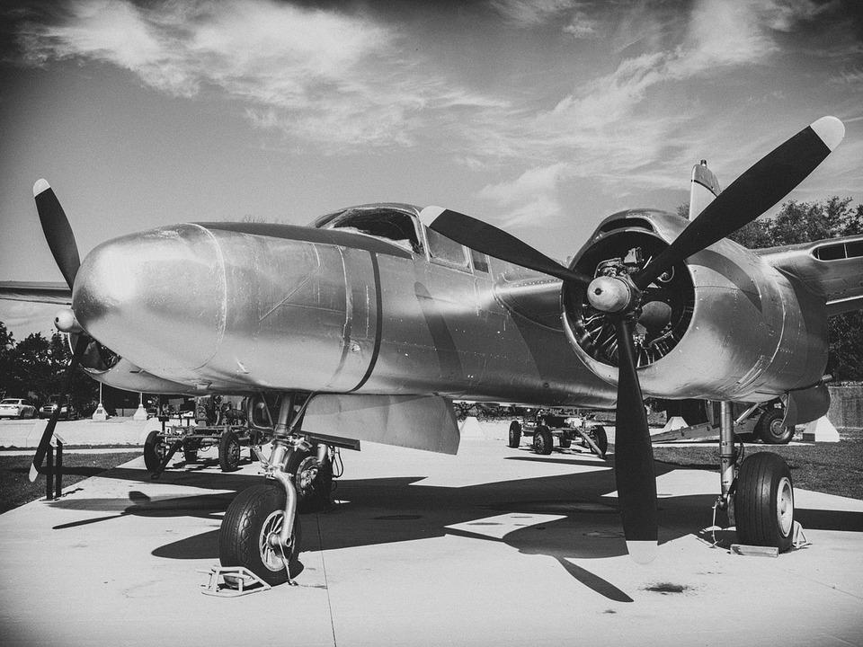 Weltkrieg Flugzeug Pilot