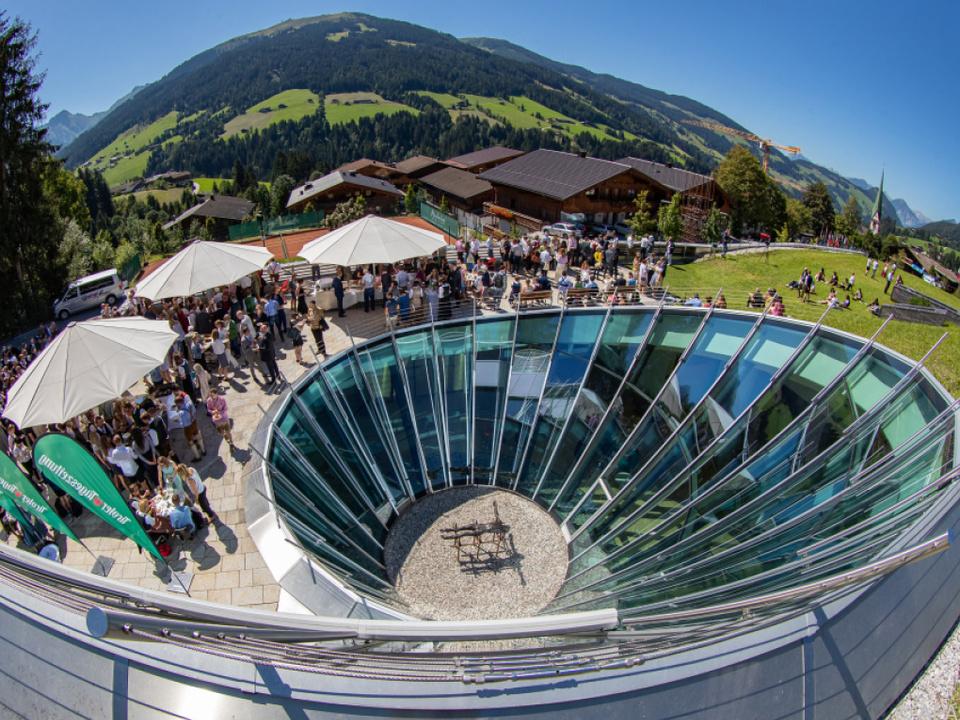 Politische Gespräche beginnen beim Europäischen Forum Alpbach