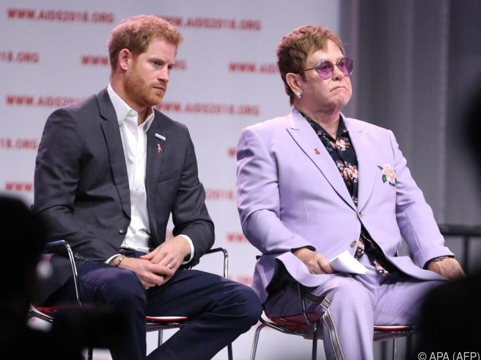 Prinz Harry steht unter dem persönlichen Schutz von Elton John