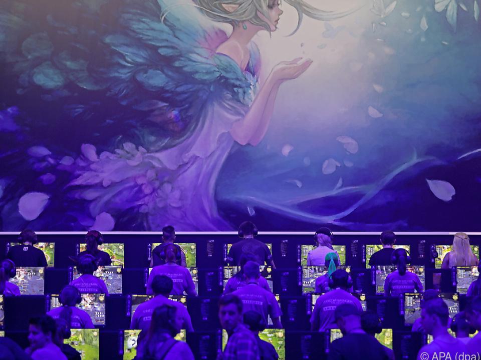Reger Andrang bei der Kölner Gamescon