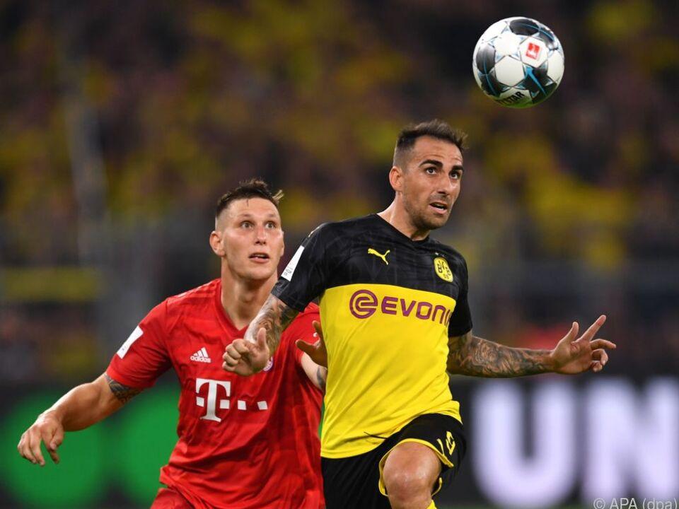 Schon im Supercup gab es das erwartete Titelduell Bayern gegen BVB
