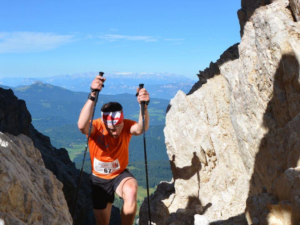 Tschagerjoch Berglauf