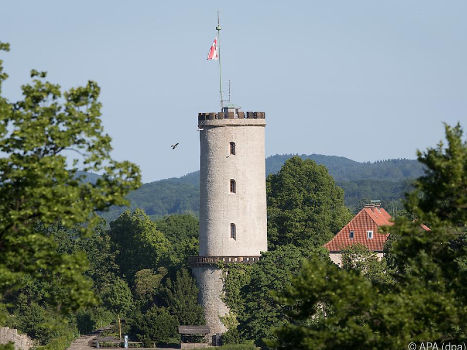 Turm der Sparrenburg - Ein Wahrzeichen der Stadt Bielefeld