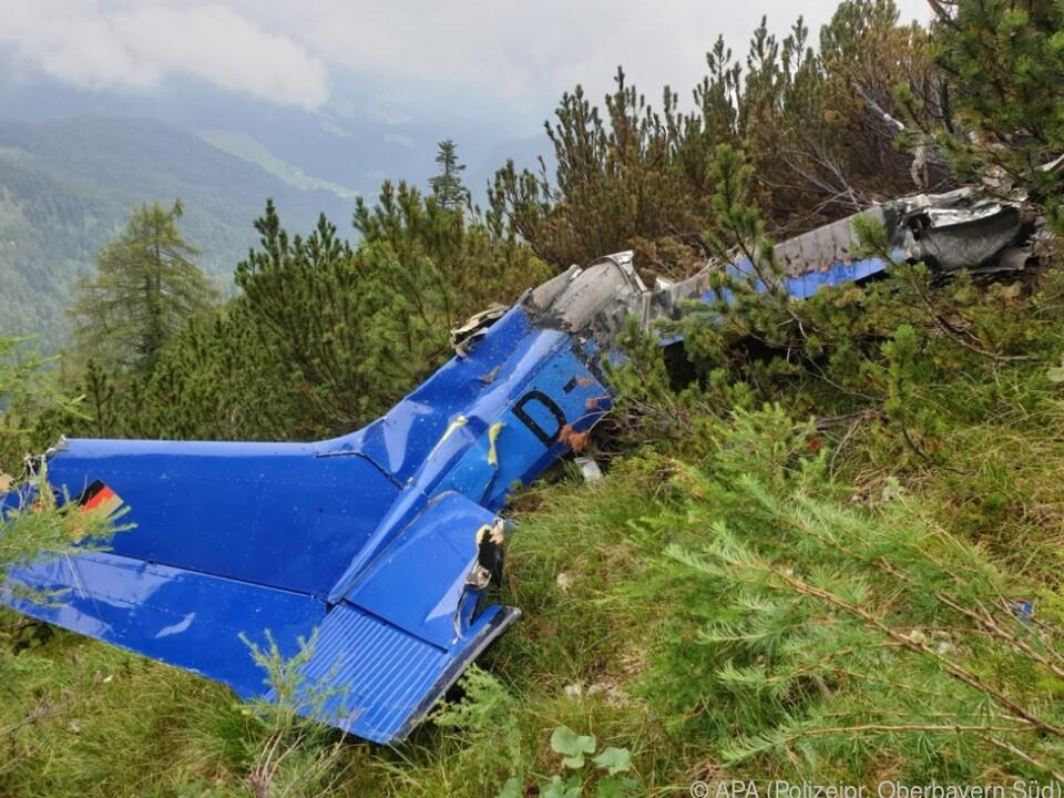 Vermisstes Kleinflugzeug auf dem Bogenhorn