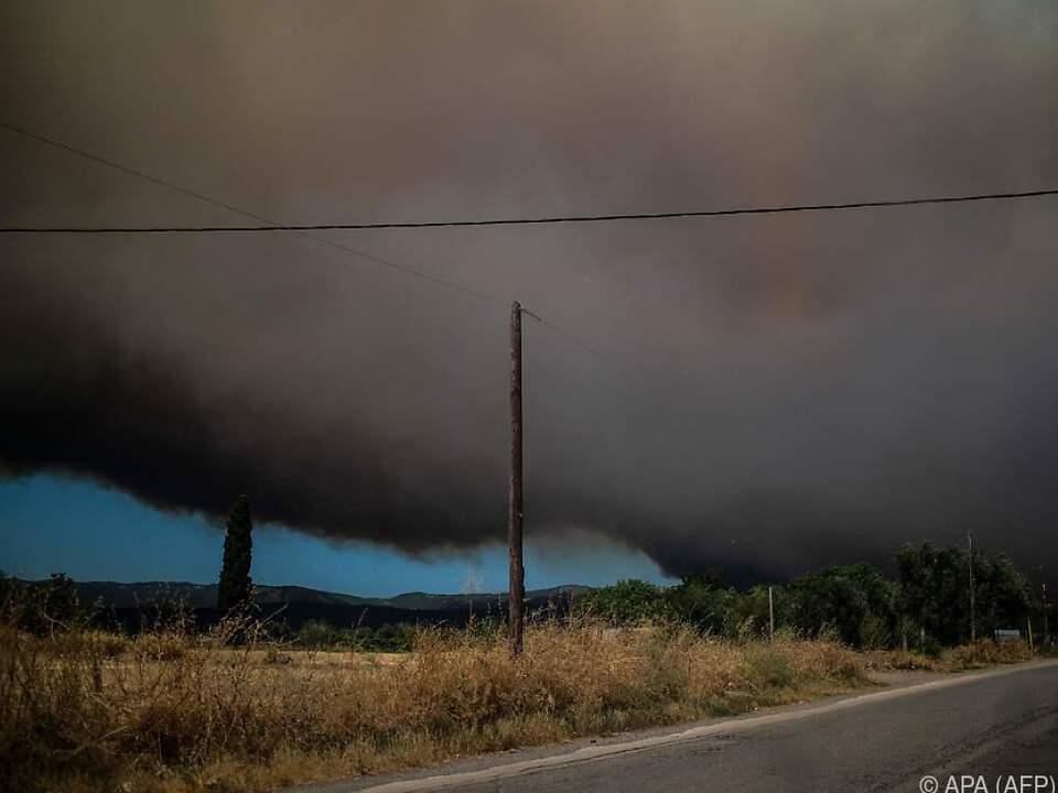 Viele Dörfer mussten evakuiert werden