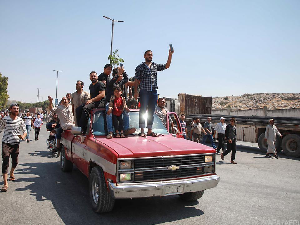 USA greifen Al-Kaida-Verbündete in Syrien an
