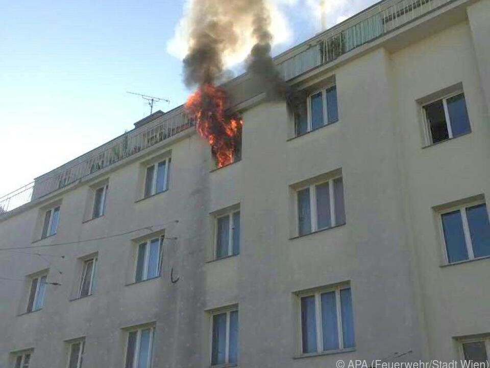 Andere Hausbewohner wurden offenbar nicht verletzt