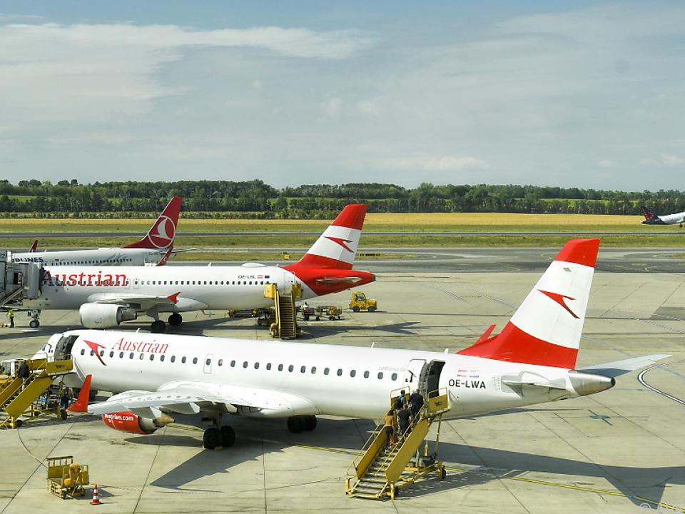 AUA und Flughafen Wien sehen sich zu Unrecht \